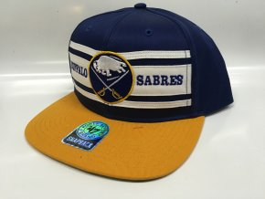 Kšiltovka Buffalo Sabres Three Stripes Snapback