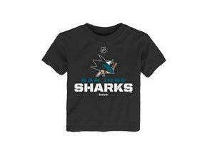 Dětské tričko  San Jose Sharks NHL Clean Cut