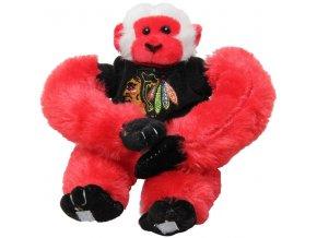 Plyšová opice Chicago Blackhawks