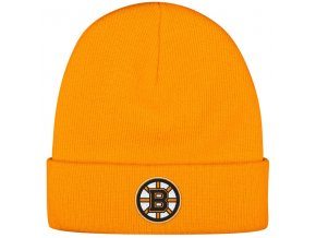 Kulich Boston Bruins Reebok Basic Logo - Žlutá
