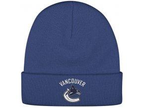 Kulich Vancouver Canucks Reebok Basic Logo - Modrá