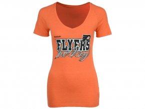 Dámské tričko Philadelphia Flyers Reebok Laced Up