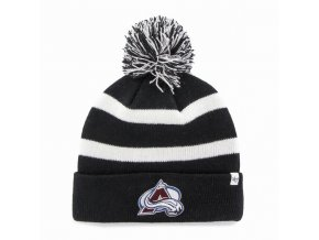 Kulich Colorado Avalanche 47 Brand Breakaway Knit Black