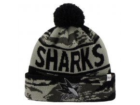 Kulich San Jose Sharks 47 Brand Tigertooth Knit