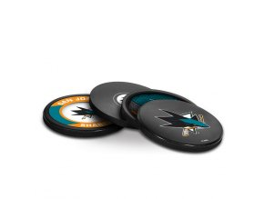 Puk San Jose Sharks NHL Coaster