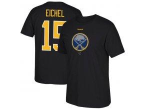 Tričko Jack Eichel #15 Buffalo Sabres Reebok Center Ice TNT Reflect Logo