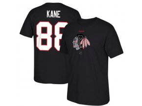 Tričko Patrick Kane #88 Chicago Blackhawks Reebok Center Ice TNT Reflect Logo