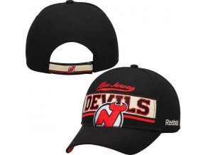 Kšiltovka New Jersey Devils Reebok Face Off Team Line