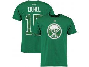 Tričko Buffalo Sabres #15 Jack Eichel St. Paddy's Name & Number