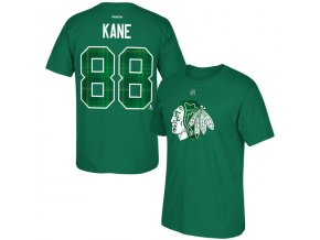 Tričko Chicago Blackhawks #88 Patrick Kane St. Paddy's Name & Number