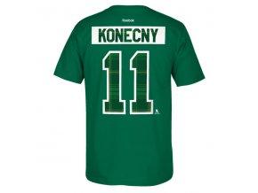 Tričko Philadelphia Flyers #11 Travis Konecny St. Paddy's Name & Number