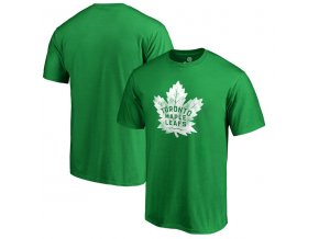 Tričko Toronto Maple Leafs St. Patrick's Day White Logo