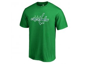 Tričko Washington Capitals St. Patrick's Day White Logo