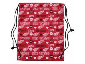 NHL Vak Detroit Red Wings Mural Love Drawstring