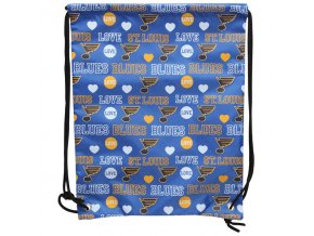 NHL Vak St. Louis Blues Mural Love Drawstring