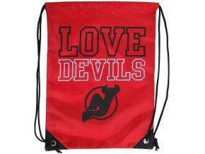 NHL Vak New Jersey Devils Love Drawstring