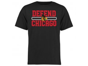 Tričko Chicago Blackhawks Hometown Defend