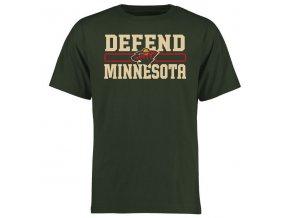 Tričko Minnesota Wild Hometown Defend