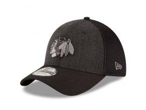 Kšiltovka Chicago Blackhawks New Era Heathered Neo 39THIRTY