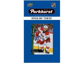 NHL hokejové karty Carolina Hurricanes 2016-17 Team Card Set