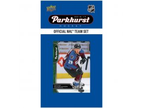 NHL hokejové karty Colorado Avalanche 2016-17 Team Card Set