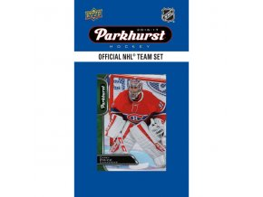 NHL hokejové karty Montreal Canadiens 2016-17 Team Card Set