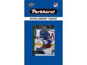 NHL hokejové karty New York Rangers 2016-17 Team Card Set
