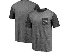 Tričko Philadelphia Flyers Refresh Tri-Blend Pocket