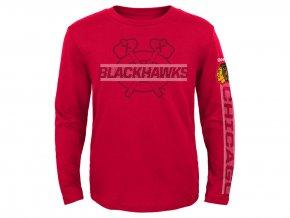 Tričko Chicago Blackhawks Reebok Line Up