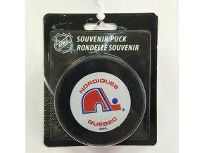 Puk Quebec Nordiques Vintage Logo