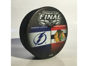 Puk Stanley Cup 2013 - Stanley Cup Finals Tampa Bay Lightning vs Chicago Blackhawks