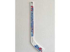 Plastiková minihokejka Quebec Nordiques Sher-wood - hráčská
