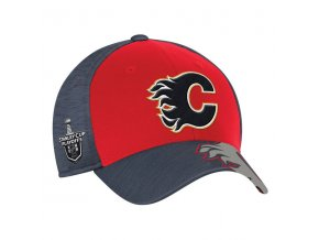Kšiltovka Calgary Flames 2017 Stanley Cup Playoffs Participant Flex