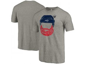 Tričko Washington Capitals 2017 Stanley Cup Playoffs Participant Full Beard Tri-Blend