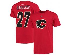 Tričko #27 Dougie Hamilton Calgary Flames