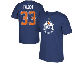 Tričko #33 Cam Talbot Edmonton Oilers