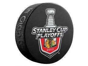 Puk Chicago Blackhawks 2017 Stanley Cup Playoffs Lock Up