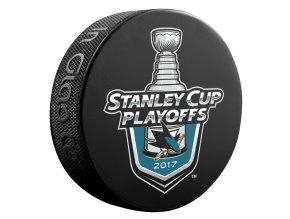 Puk San Jose Sharks 2017 Stanley Cup Playoffs Lock Up