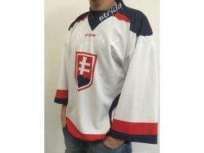 Hokejový dres Slovakia Ice Hockey Team WHITE