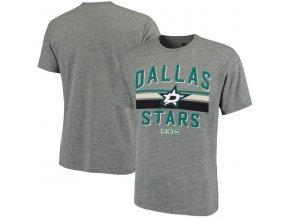 Tričko Dallas Stars CCM Classic Stripe Tri-Blend