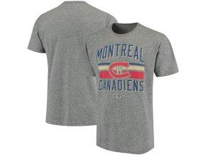 Tričko Montreal Canadiens CCM Classic Stripe Tri-Blend