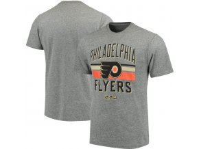 Tričko Philadelphia Flyers CCM Classic Stripe Tri-Blend