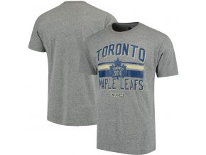 Tričko Toronto Maple Leafs CCM Classic Stripe Tri-Blend