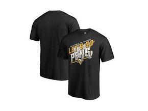 Tričko Pittsburgh Penguins Fanatics Branded 2017 Stanley Cup Champions Bender T-Shirt - Black