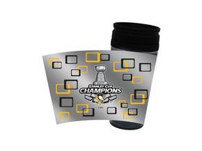 Pittsburgh Penguins 2017 Stanley Cup Champions 16oz. Snap Fit Tumbler