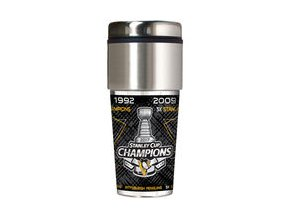 Pittsburgh Penguins 2017 Stanley Cup Champions 16oz. Travel Tumbler