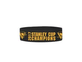 Pittsburgh Penguins 2017 Stanley Cup Champions Bulky Bandz Bracelet
