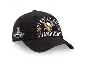 Kšiltovka Pittsburgh Penguins 2017 Stanley Cup Champions Fundamental