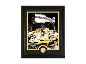 Sidney Crosby Pittsburgh Penguins Highland Mint 2017 Stanley Cup Champions Player Trophy Photomint
