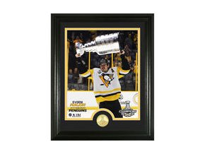 Evgeni Malkin Pittsburgh Penguins Highland Mint 2017 Stanley Cup Champions Player Trophy Photomint